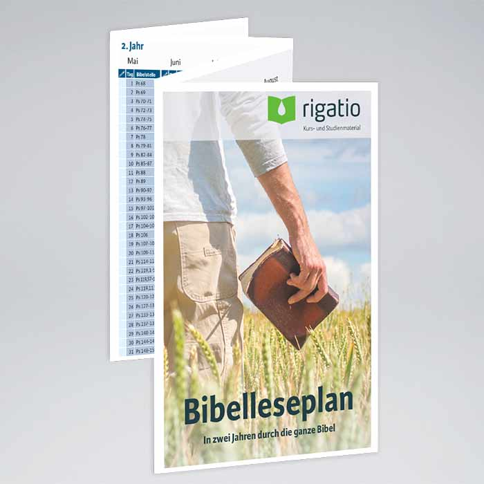 Bibelleseplan 2 Jahre Rigatio Com